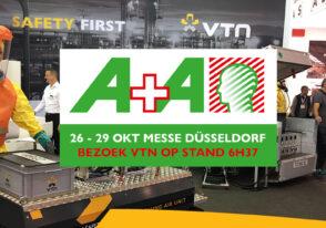 Bezoek VTN van 26 tot 29 Okt. op de A+A beurs in Düsseldorf